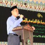 KH Ghozi Mubarok Idris, MA membuka PKM TMI 2014