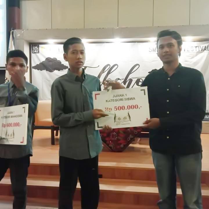 Saifi - Juara I Cerpen di UTM Bangkalan
