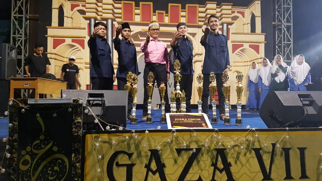 juara umum gaza1