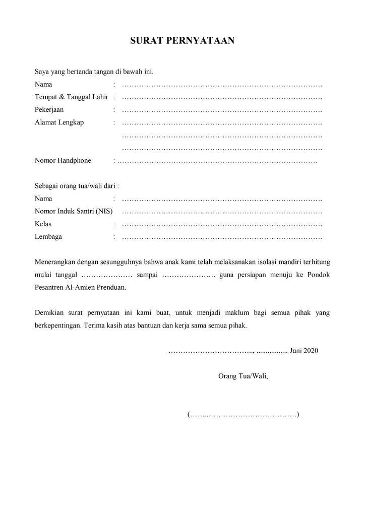 Prosedur Kedatangan Santri Wati Pondok Pesantren Al Amien Prenduan Pasca Liburan Akhir Tahun 2020 M 1441 H Pondok Pesantren Al Amien Prenduan